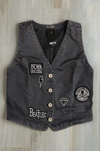 Gilet donna petch beatles 201 Blu