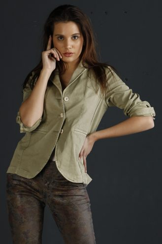 Basic jacket 501 Sage - woman