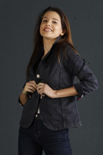 Basic jacket 501 Blue - woman